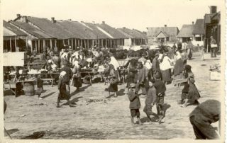 Rynek w Wojsławicach, 1934